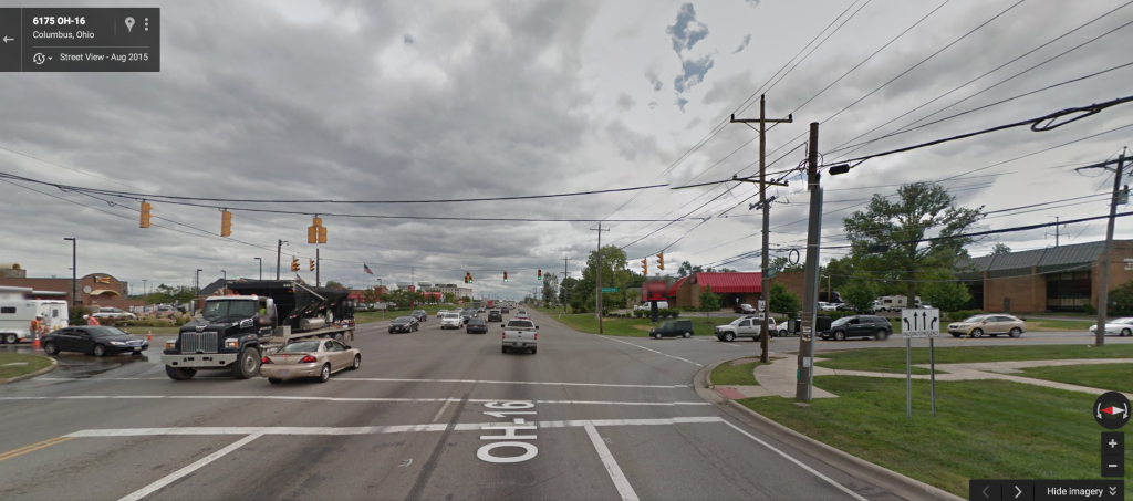 McNaughten Road intersection